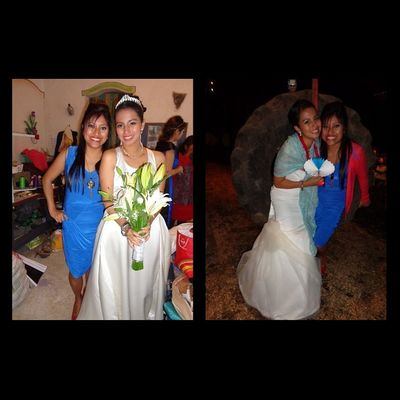 My love got married!!! My Friend ❤ Bride Wedding Saturday Party! Laaa amooo my Mafere :')