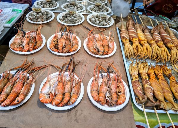 EyeEm Selects Seafood Food And Drink Food High Angle View Freshness Retail  For Sale Fish Market Healthy Eating Market Stall Market Table Raw Food Plate