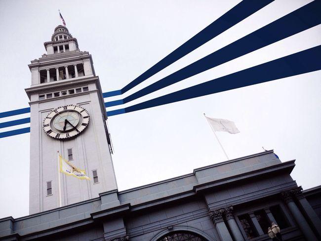 Sky Lines [San Francisco Piers, California] Building Art Architecture Skyporn