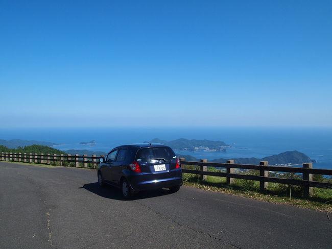 Kagamiyama Japa Car Clear Sky Driving Honda Fit Mountain Nature No People Scenics The Way Forward Travel