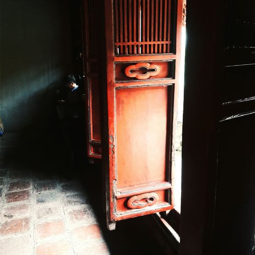 The ome have withstood time's current. Red Weathered QuốcTửGiám Famous Place