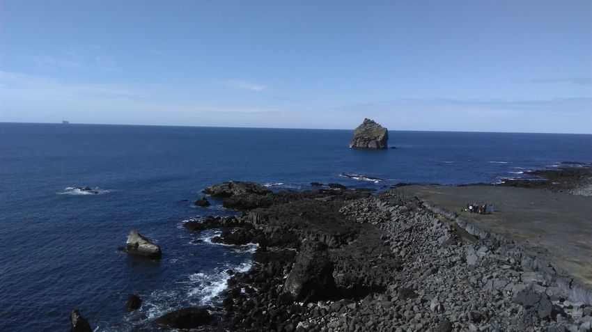 Sea Rock - Object Horizon Over Water Nature Landscape Beauty In Nature Iceland Beauty In Nature