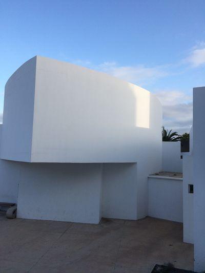 Fuerteventura Built Structure Architecture White Houses White Light Rectangle Geometric Shape