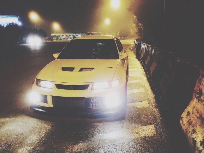 I'm here Kuala Lumpur Malaysia  Cold Night Drive Alone Taking Photos