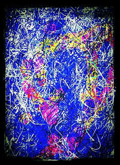 Abstract ArtWork Action Pixelings Virtual Web Museum Of Contemporary Art