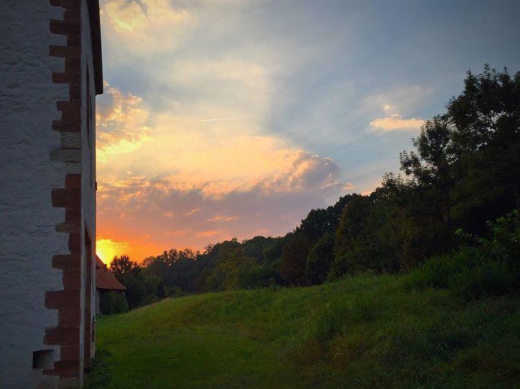 Bad Gandersheim Gandersheim Gan Roswithastadt Sunset Sonnenuntergang Tadaa Community Tadaa Tadaa Friends © MJ ®