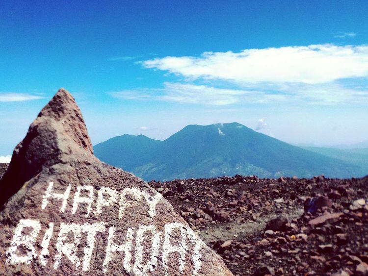 Sumatera Sumatra  Volcano Happy Birthday! Happy Birthday Mountain View Volcanoes Volcanic Rock