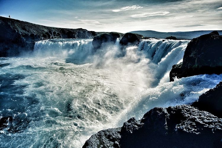 Landscape Landscape_photography Iceland Traveling Waterfall Beautiful Nature Enjoying The View Godafoss Iceland_collection