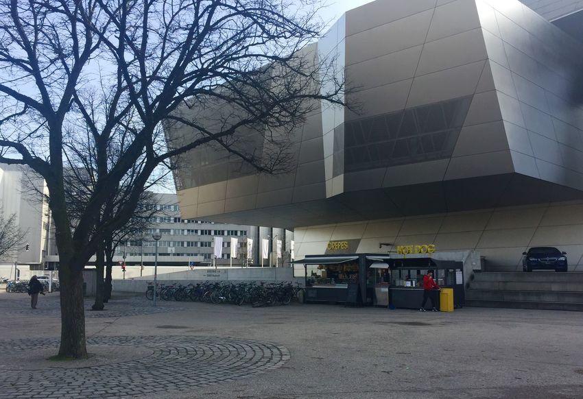 BMW Welt  Olympiaparkmünchen Architecture