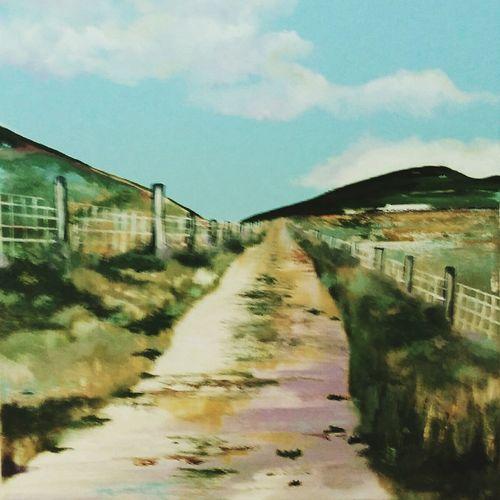 The Old Bog Road.www.hennessyart.ue