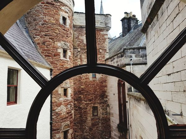Scotland Scottish Scottishhighlands Highlands Highlandsofscotland Dunrobin Castle City Window Residential Building Sky Architecture Building Exterior Close-up Built Structure Arch Building Historic Exterior Location Place