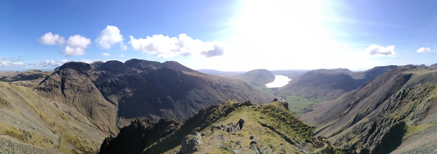 Napes To Westmorland Crag Col Great Gable Mountain Adventures Go Higher