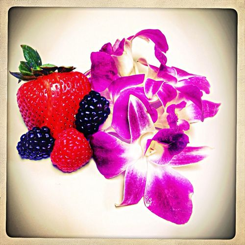 Eat More Fruit Flower Fruits Stillife