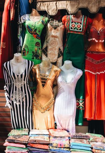 Egypt Egyptian Market Traditional Dans Billydancer Clothes Cloth Culture Cultures Dance Dancing Dancing Clothes Colourful Colours Manican Manicans Cairo