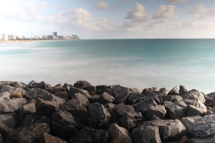 Beach Clouds Coastline Lsndscape Miami Beaches Nature Ocean Pier Scenery Scenery Shots Scenic Scenic View Scenics Sky Sunrise Water Waterfront
