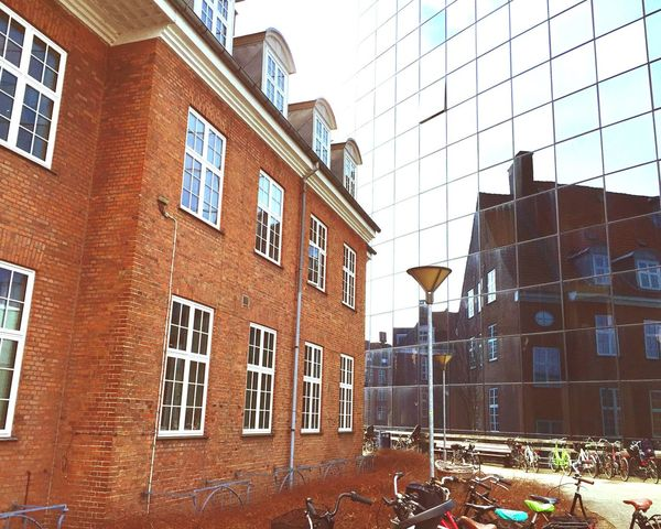 Glass Reflection old meet new Seeking Inspiration Taking Photos Check This Out Hanging Out