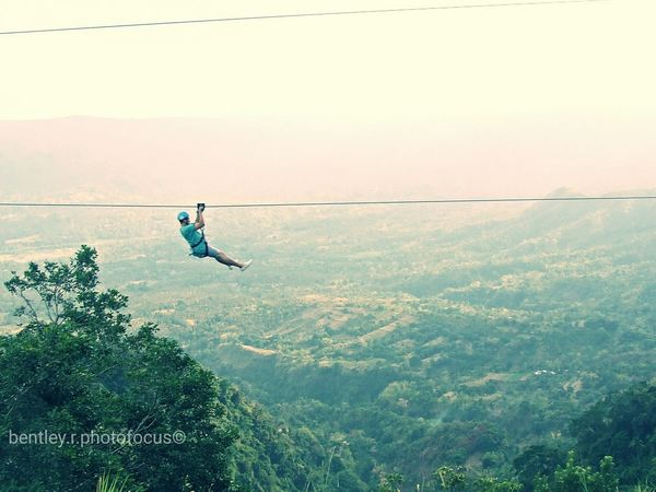 Riding the Very Dangerous Zip Line in Tagaytay City Sky Ranch Amusement Park 😉 Tagaytay City Skyranch Eye4photography  Zipline Living Bold Travel Photography Popular Photos