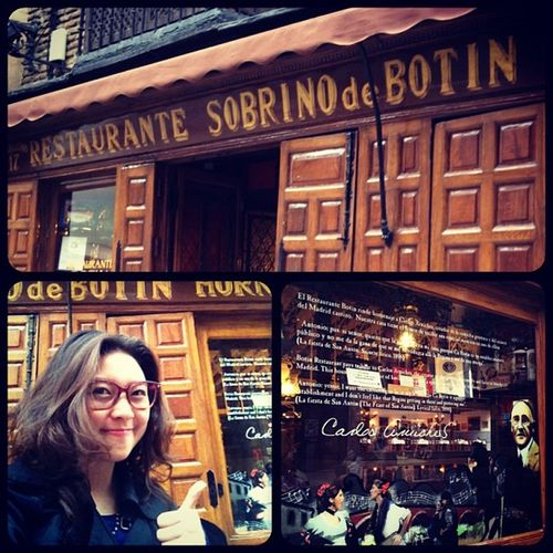 Sobrino de Botin is a Spanish Restaurant established in 1725. It is listed by Guinness Book of Records as the oldest eatery in the world ;)