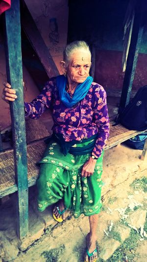 Khagi. Gorkha. Nepal. Nepal Khagi EyeemWomen Women Around The World Real People Senior Women EyeEmNewHere