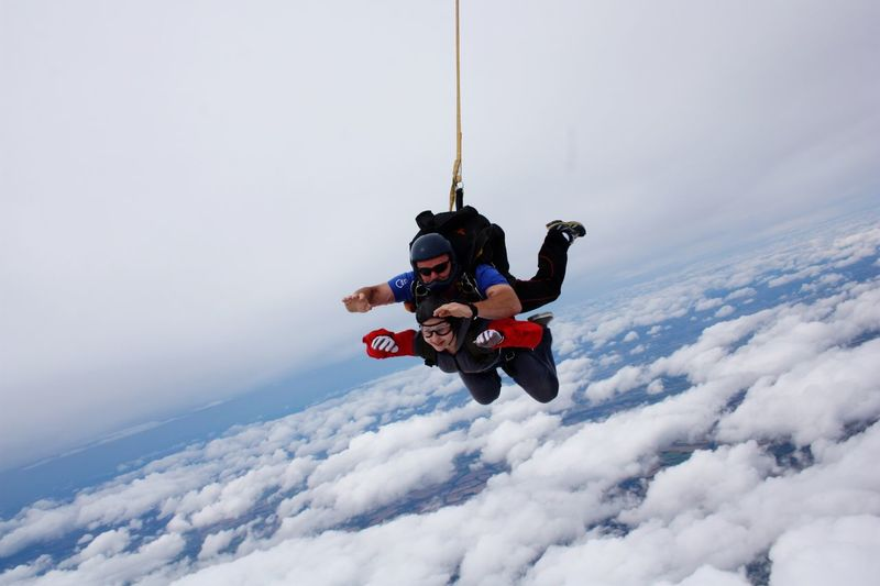 Skydiving Adrenaline Loving Life! Amazing View