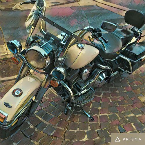No People Motorcycles Prisma Prismacolor Belgrano