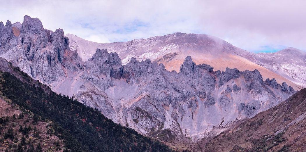 油畫 Nature Mountain Landscape