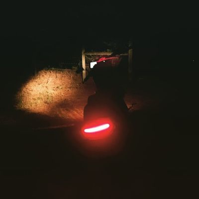 Late night. Twowheelsmovethesoul Honda Hondafury