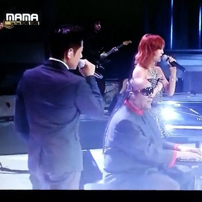 """I just called, to say I love you I just called, to say how much I care I just called, to say I love you And I mean it from the bottom of my heart"" Watched MAMA2013 Favourite song from StevieWonder Ft. Hyorin Aaronkwok"