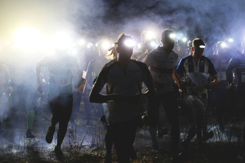 Forest Lights In The Dark Map Men Night NightRun Orienteering Outdoors People Reading Real People Robot Run Running In The Rain Smoggy Smoke Smoke - Physical Structure Sport Stopmotion Sweden