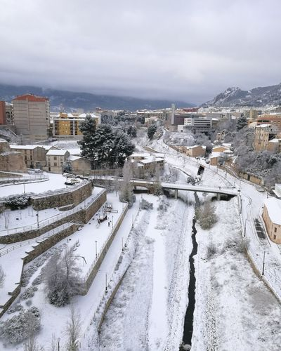Nevada Winter Snow Cold Temperature City Snowing Sky Cloud - Sky Day Cold Day Alcoy ColdMorning Winter