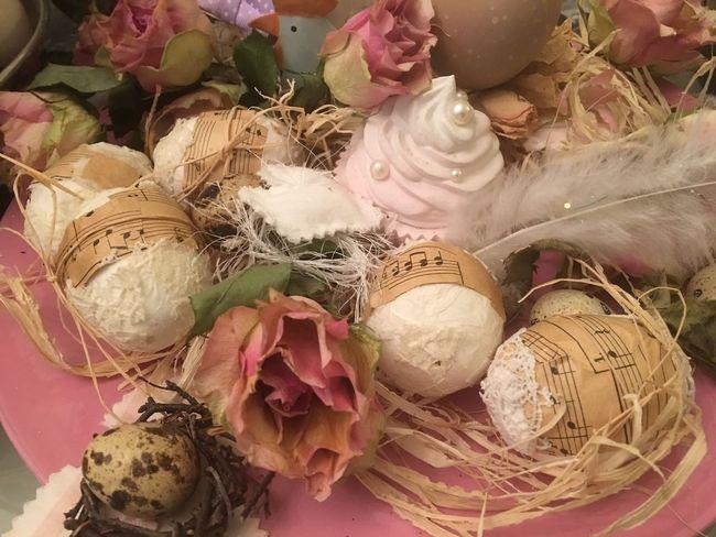 Shabby Chic Deko No People Close-up Indoors  Frühling 2017 Osterdeko Springtime Shabby Deko☀️ Fragility