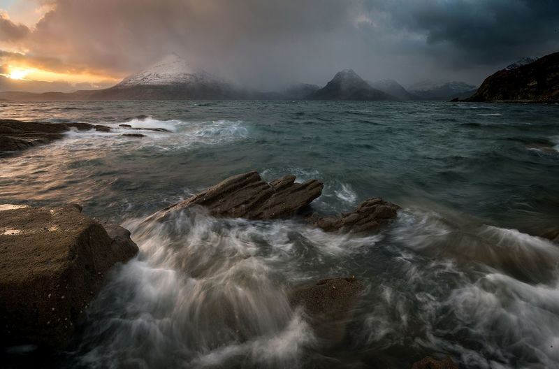Elgol, Isle of SkyeSkye Isle Of Skye EyeEm Selects Sea Dramatic Sky Water Beauty EyeEm The Best Shots EyeEm Masterclass Scotland EyeEm Best Shots - Sunsets + Sunrise EyeEm Team Mountain_collection Long Exposure EyeEm Best Shots EyeEm Best Edits Landscape Photography