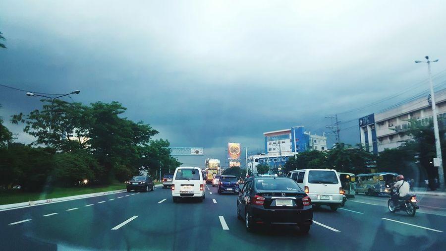 Eyeem Philippines Road Cars Dark Skies
