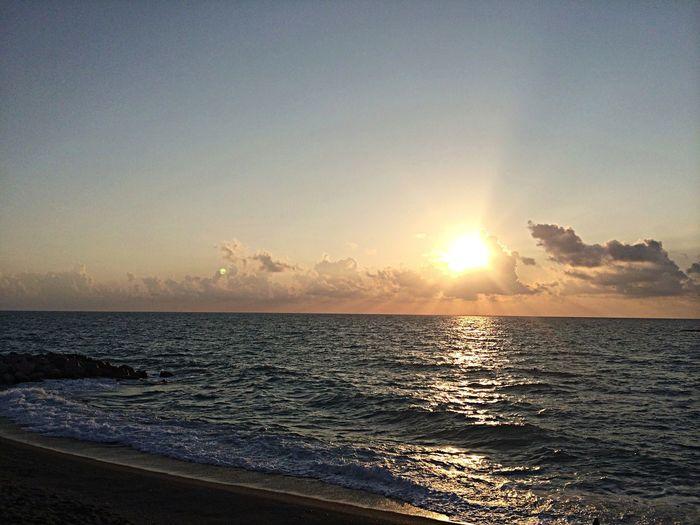 Belong Anywhere Sea Sicily Sunset