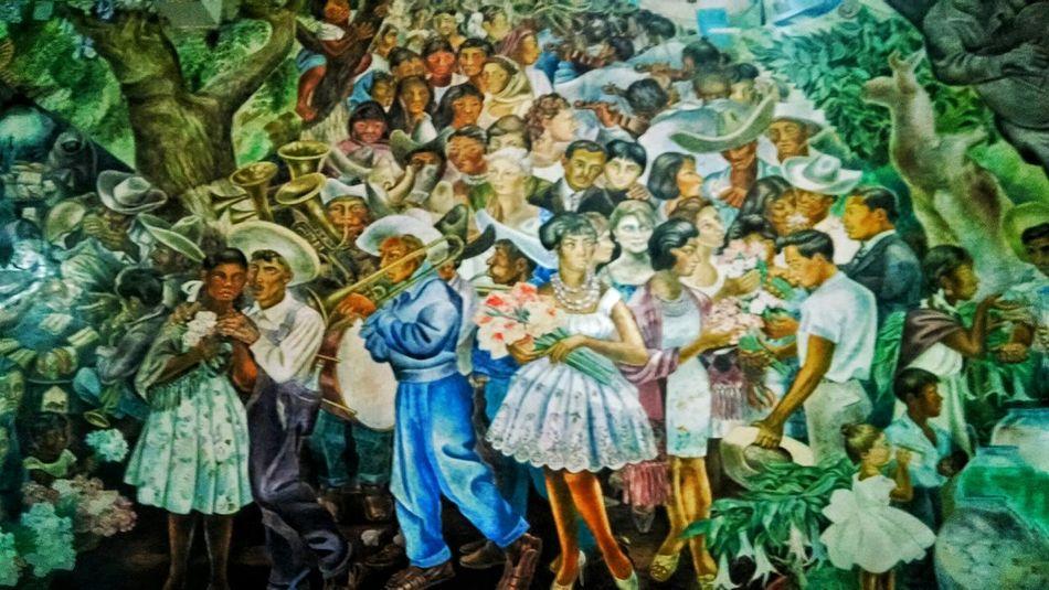 """""""Feria de San Marcos"""" Aguascalientes Mexico Murales"""