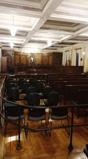 Indoors  Chair Wood - Material Courtroom No People Law Law Is Law
