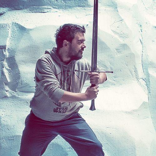Selfie Quietintherealm Sword Iceberg