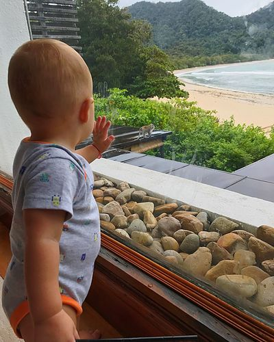 Watching out his friend🙈 Childhood Nature Outdoors
