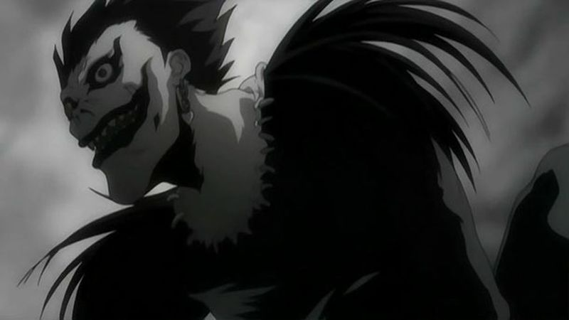 Hello World Anime Death Note Ryuk *-* amo este shinigami ? akfhskfjsjf