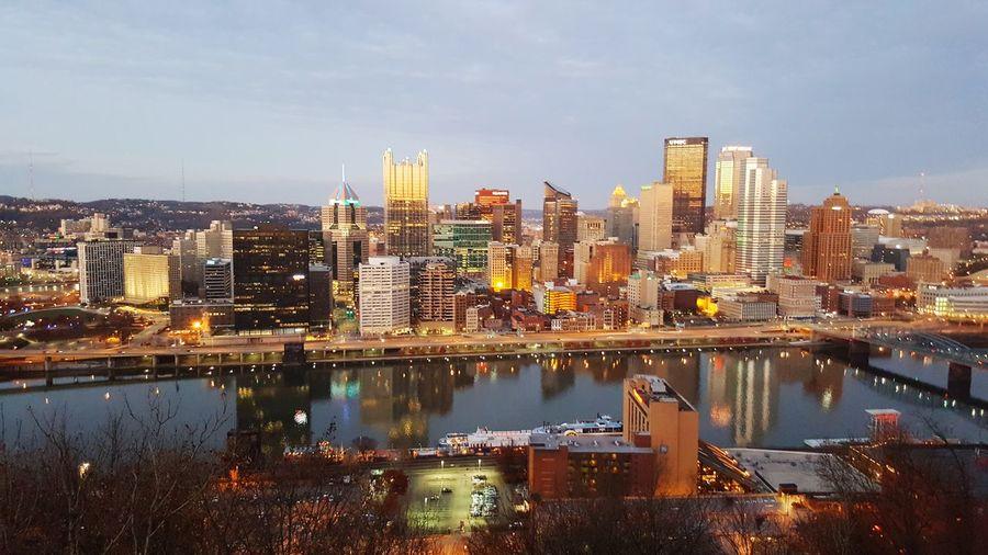 Mount Washington  Pittsburgh Pennsylvania Pittsburgh Travel Destinations Urban Skyline City Cityscape