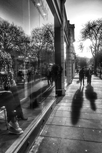 Reflect on shopping Time To Reflect Silhouette EyeEm Best Shots - Black + White Street Photography
