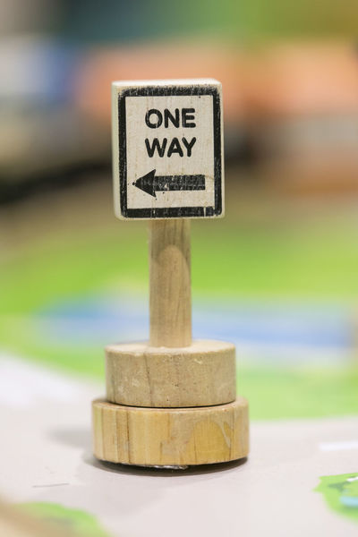 one way sigh - Toy Set Street Signs - Play set Educational toys for preschool indoor playground (selective focus) Text Communication Western Script Sign Close-up No People Wood - Material Focus On Foreground Day Selective Focus Outdoors Warning Sign Travel Guidance Capital Letter Still Life Nature Leisure Activity Sport Toy Block Message One Way Sigh Educational Toys Wooden Toy Wooden Toy Block