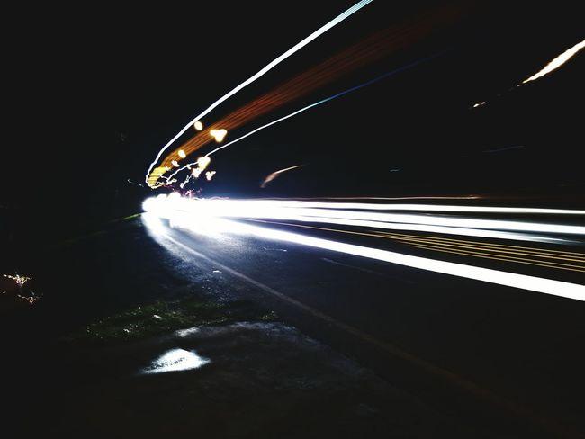 Moving bus Night Lights Bus Transportation Movement Movement Photography Illuminated