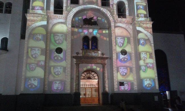Iglecia de tuxtla gtz mexico Religion Arch Multi Colored Architecture Travel Destinations Spirituality Place Of Worship Built Structure Indoors  No People Day