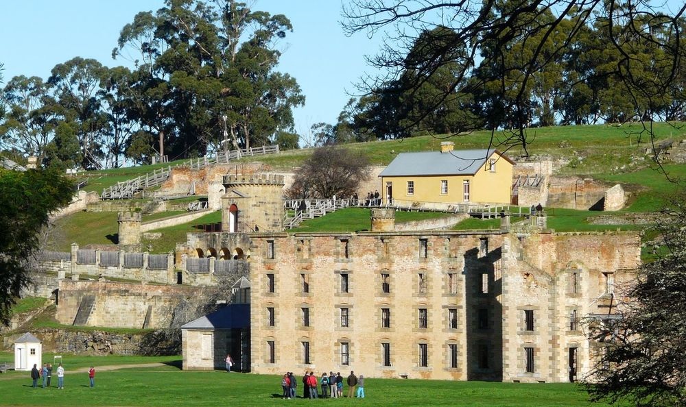 Penal Colony Ruins- Port Arthur Tasania Australia Ancient Architecture Building Exterior Built Structure Day Façade Grass Green Color Growth History Lawn Leisure Activity Lifestyles Nature Old Outdoors Port Arthur Ruins Sky Tasmania The Past Tourism Tourist Travel Destinations Tree