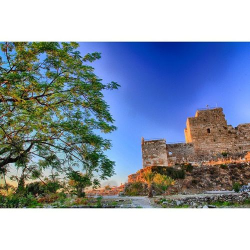 Byblos Castle in HDR . RamiMPhotography