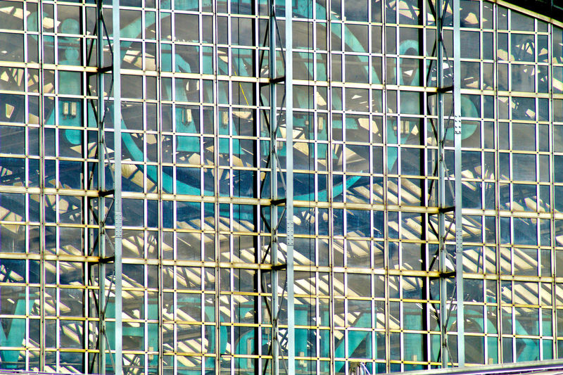 Architecture Backgrounds Blue Building Built Structure City City Life Day Development Full Frame Low Angle View Modern No People Office Building Outdoors Reflection Repetition Sky Tall - High The Architect - 2017 EyeEm Awards 10