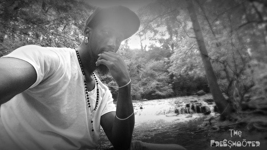 NiRobinson Black & White B&W Portrait Taking Photos Water Nature Chill