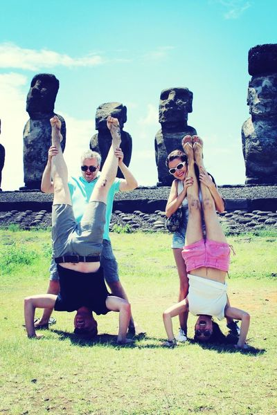 Messing about in Easter Island Enjoying Life