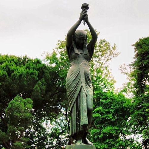 Jardim do Torel Vscocam Statue Fountain art garden jardim green igers igerslisboa igersportugal portugal portugaldenorteasul tipsguidelisboa lisboa